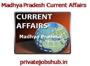 Madhya Pradesh Current Affairs