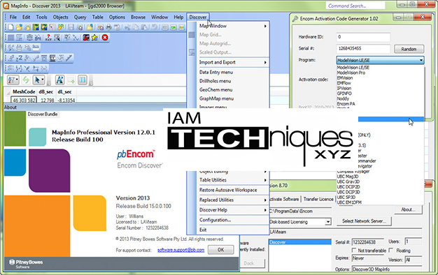 MapInfo v12.01 and Discover 2013