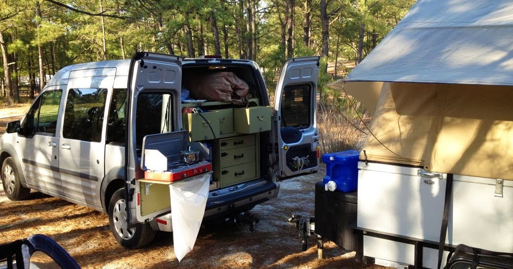 the ford transit connect as a compact camper subcompact culture the small car blog. Black Bedroom Furniture Sets. Home Design Ideas