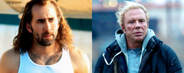 Nicolas Cage como Randy (The Wrestler)
