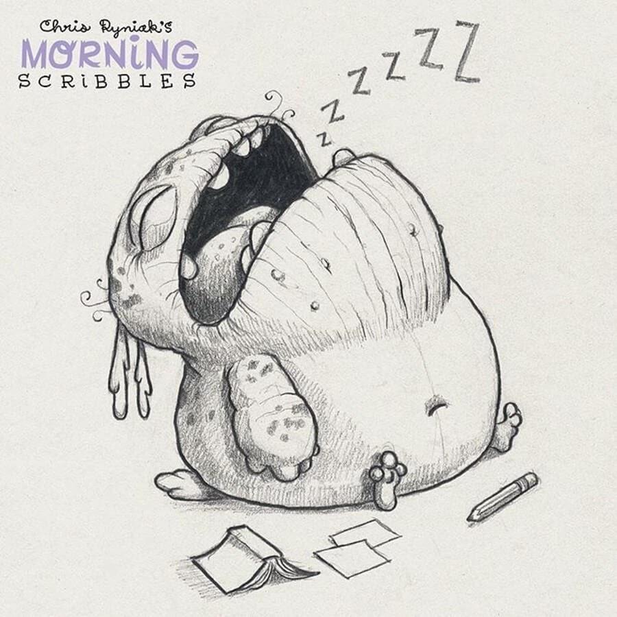 01-Resting-Chris-Ryniak-Cute-Creatures-www-designstack-co