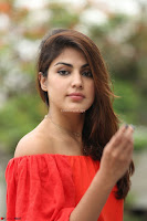 Rhea Chakraborty in Red Crop Top and Denim Shorts Spicy Pics ~  Exclusive 146.JPG