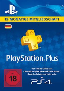 PSN Plus Mitgliedschaft 15 Monate nur 34,99 Euro!