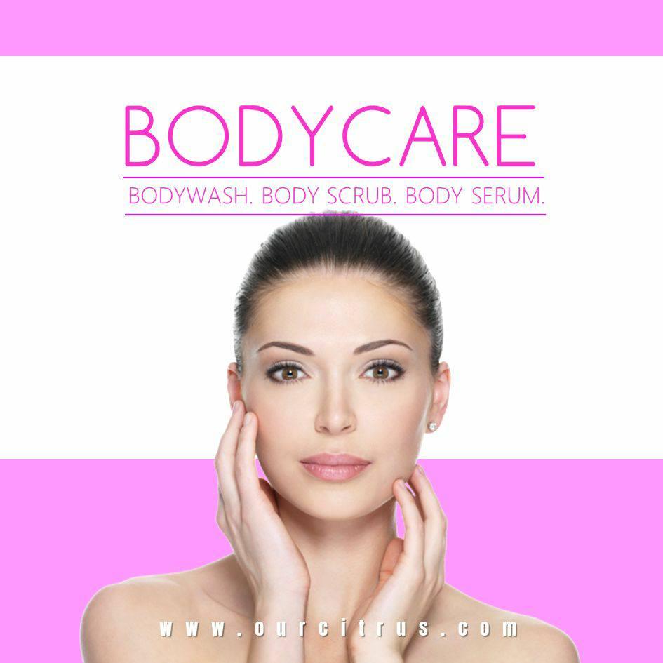 Body treatment series dari ourcitrus ahlinya produk perawatan kulit terbaik  di Indonesia. yang terdiri dari body scrub 5ac8dea831