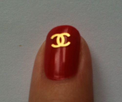 lasuave chanel nail art