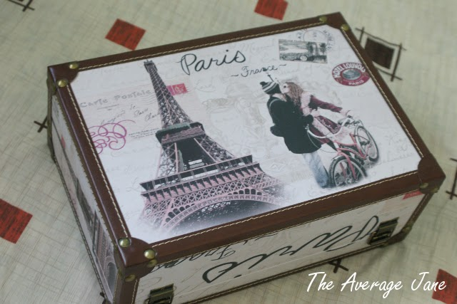 The Average Jane: My Rogue Vintage Suitcase from SimpleJoys