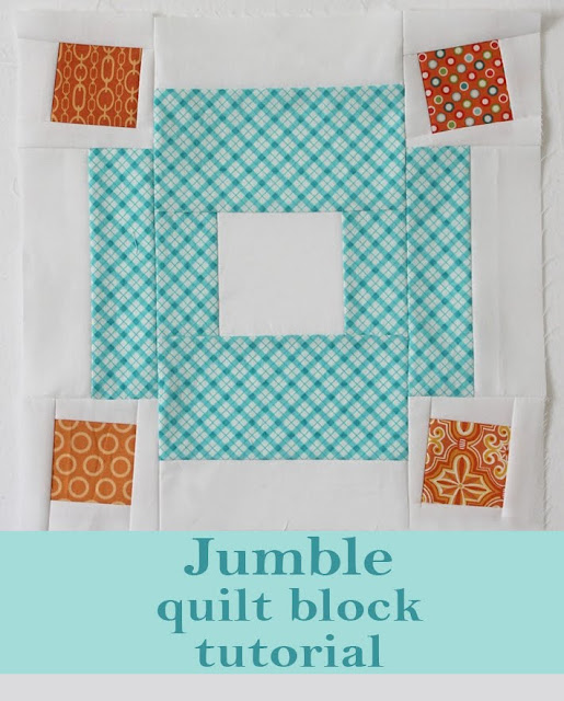 Jumble quilt block tutorial