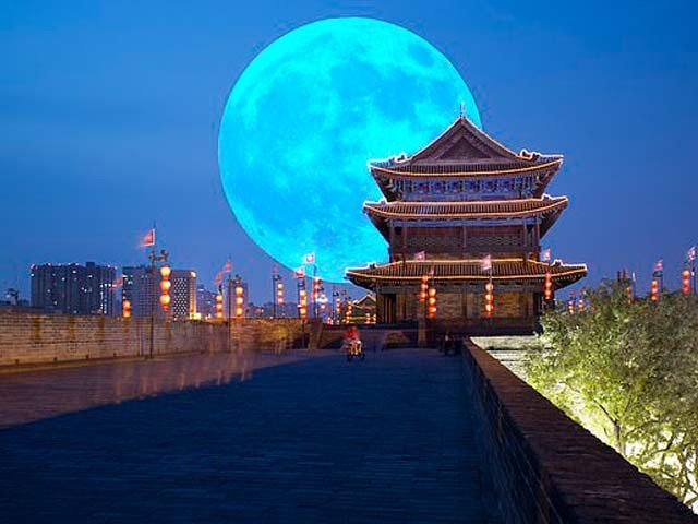 چین 2020 تک مصنوعی چاند بنائے گا