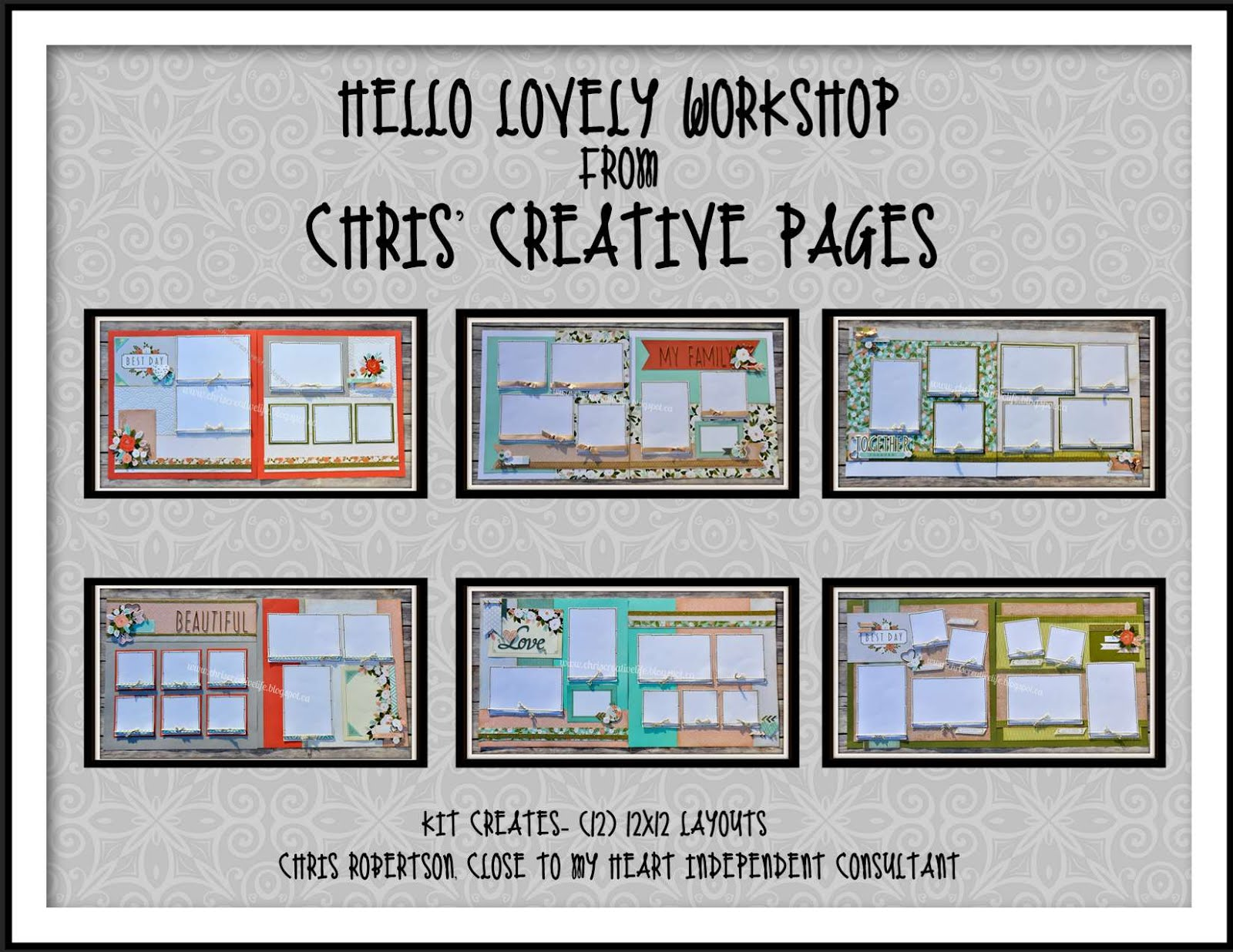 Hello Lovely Workshop Guide & efiles