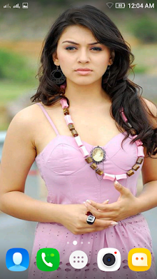 Hansika Motwani 3D live Wallpaper For Android Mobile Phone