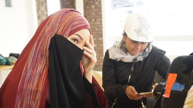 Dewi Sandra Bayangkan Hidup di Palestina Dalami Peran 'Ayat-ayat Cinta 2'