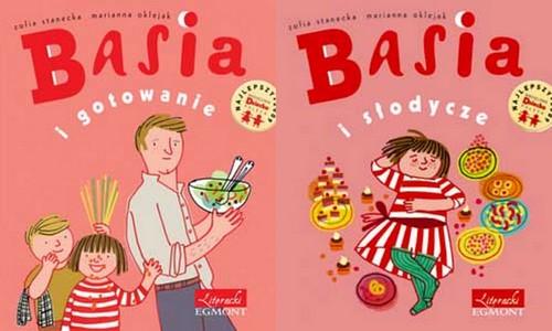 """Zofia Stanecka, """"Basia i gotowanie"""" oraz """"Basia i słodycze"""""""