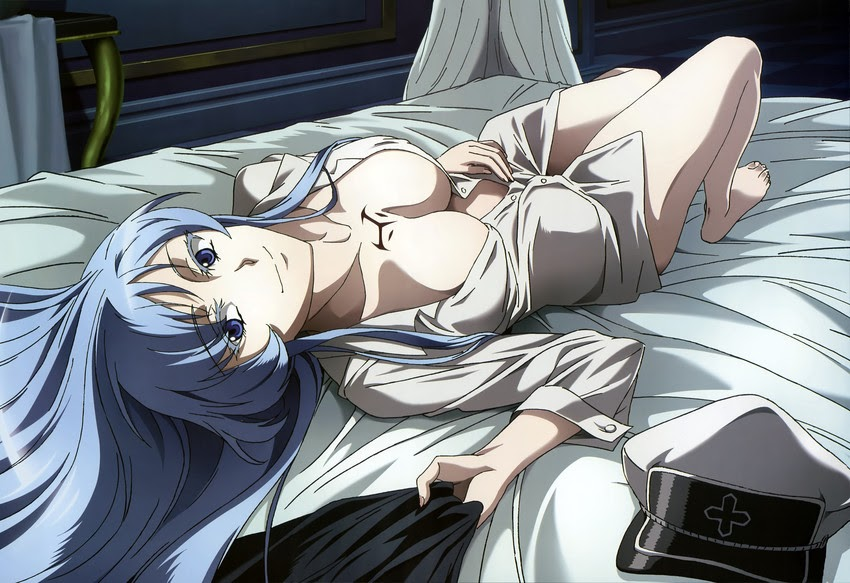 esdeath on bed