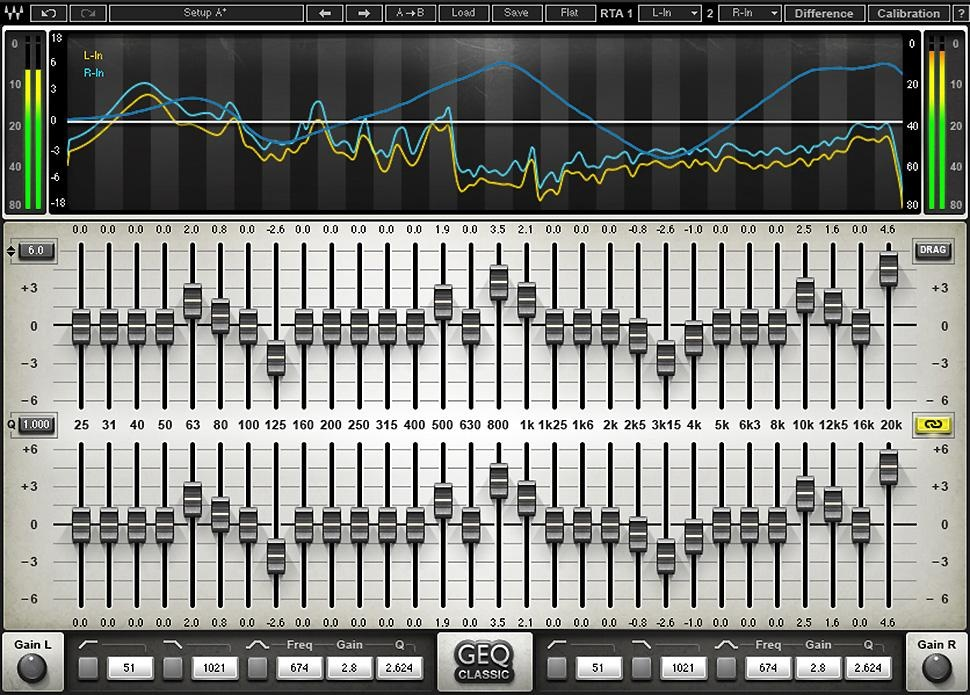 Musical Instrument Expandable Graphic Equaliser