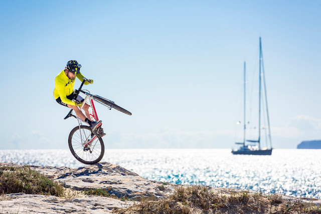 David Cachon en Formentera Gravel Kingdom