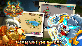 Frontier Wars 2 Rival Kingdoms V1.0.7 Mod Apk ( Unlimited Gold and Diamonds )