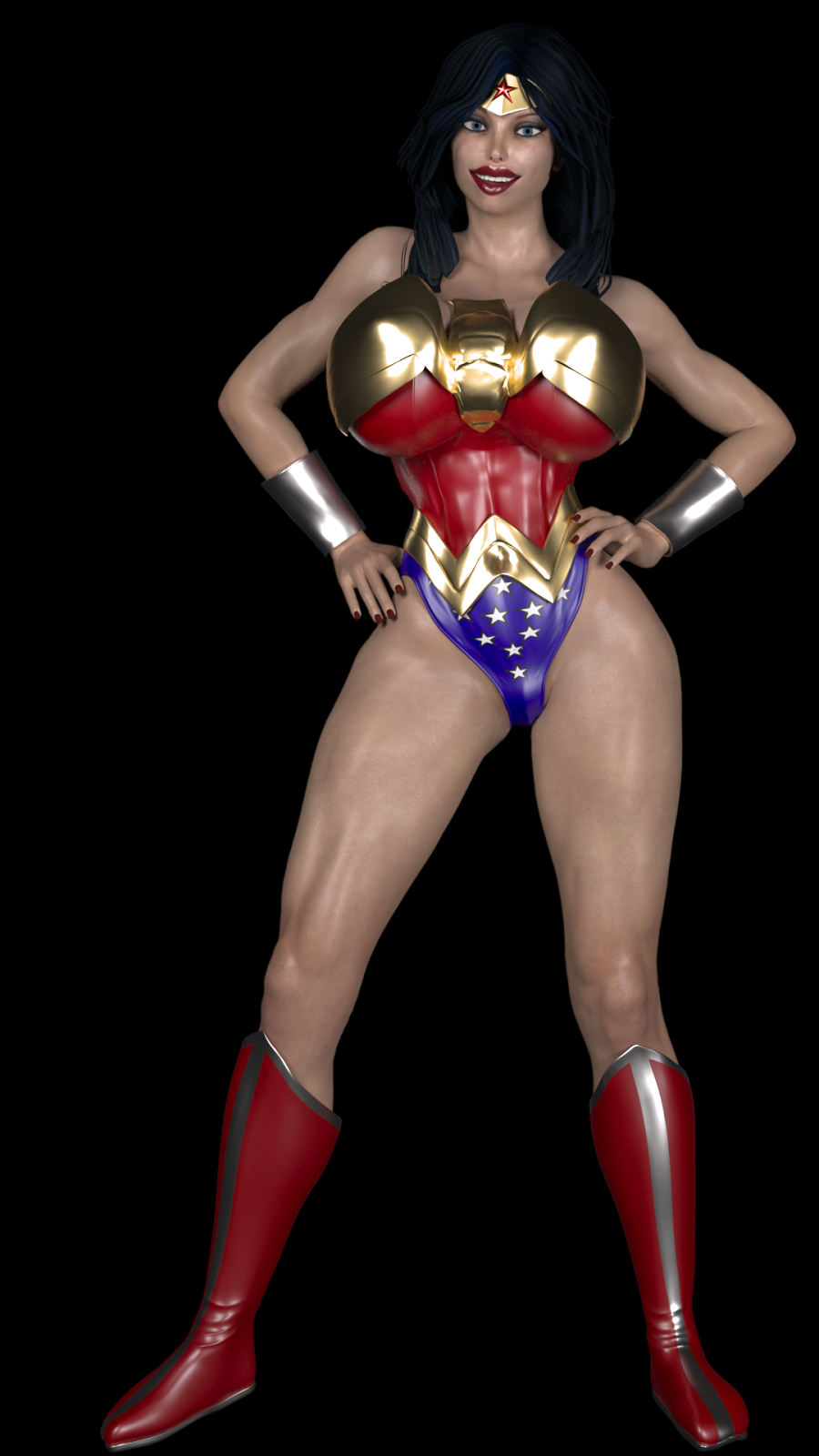 Jimjims Renders Wonder Woman VS Gremlins Partie 1 Commission-9958