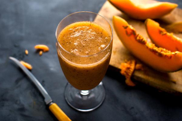 The Recipe File: Cantaloupe-Lime Agua Fresca With Chia Seeds