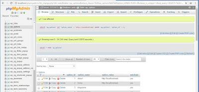 memindahkan wordpress dari online ke offline di XAMPP