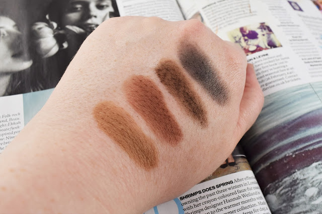 HI IMPACT BROWS Eye & Brow Perfector Swatches