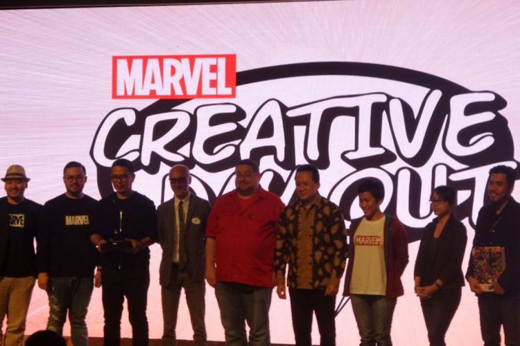 Marvel Creative Day Out di Universitas Binus