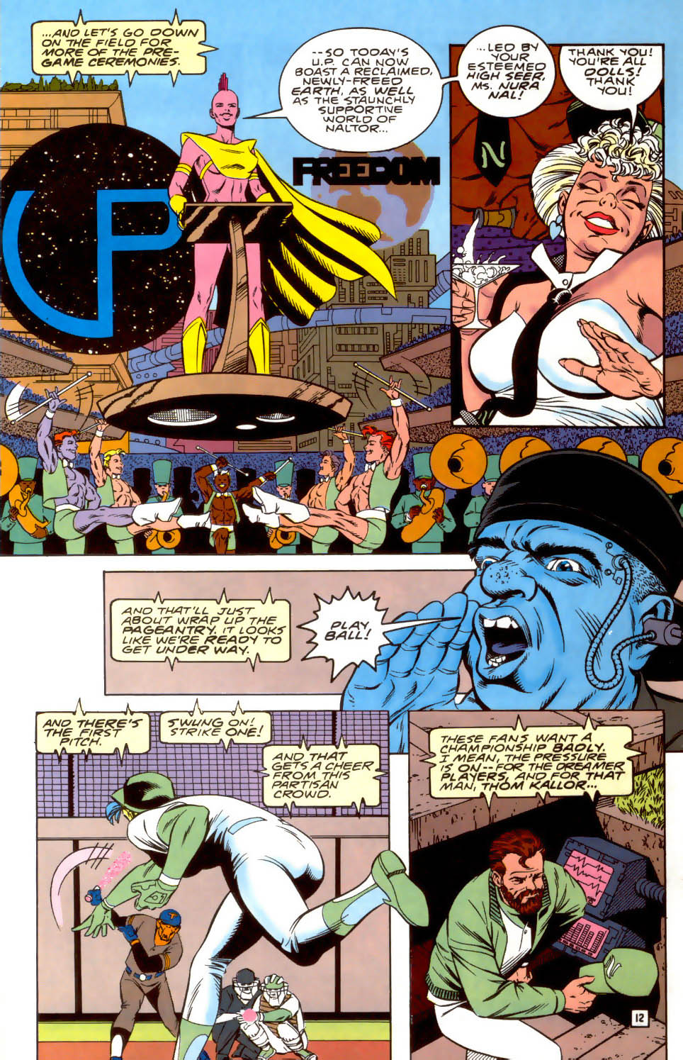 Legion of Super-Heroes (1989) 37 Page 12