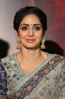 Sri Devi in designer saree stunning beauty at the launch of MOM movie Trailer~  Exclusive 017.JPG