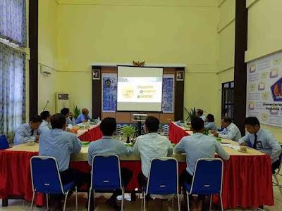 KPPN Saumlaki Gelar FGD Permen Keuangan No 178 Tahun 2018