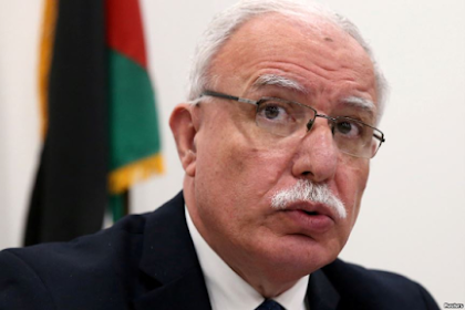 "Palestinian Minister of Foreign Affairs: Usa Design ""Requirements to Give Up"", Not Peace"