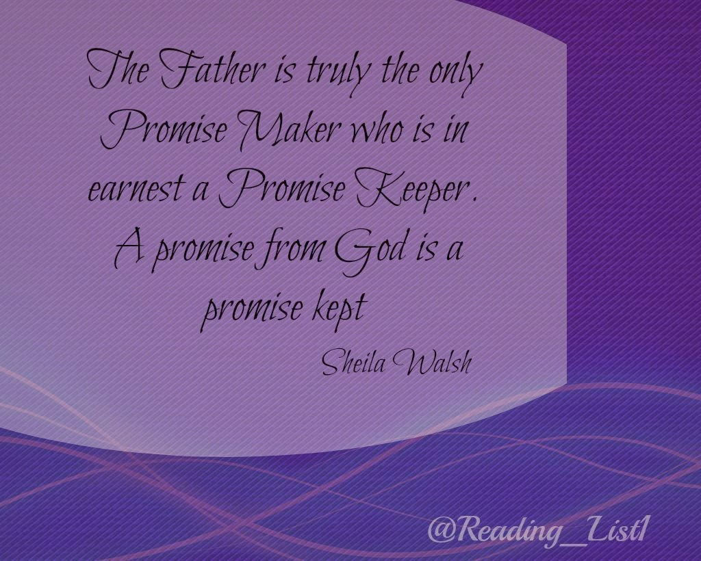The True Promise Keeper   {Reading List}