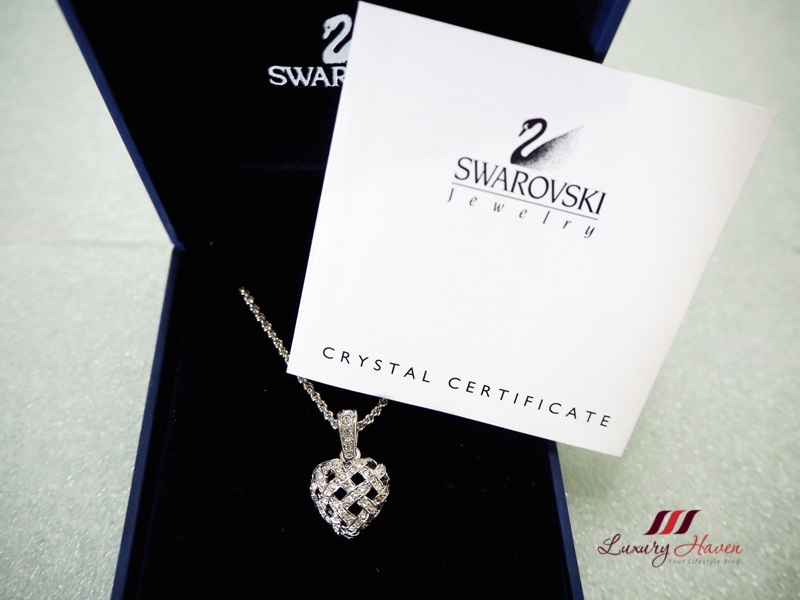 authentic swarovski woven heart pendant giveaway