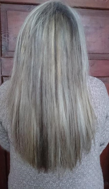 Znowu blondynka / Plan włosowy na maj