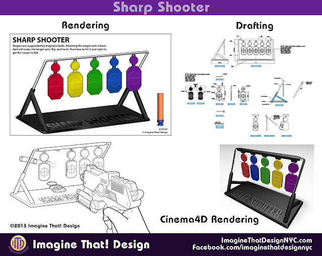 Sharp Shooter designed and developed by Imagine That! Design for EB Brands