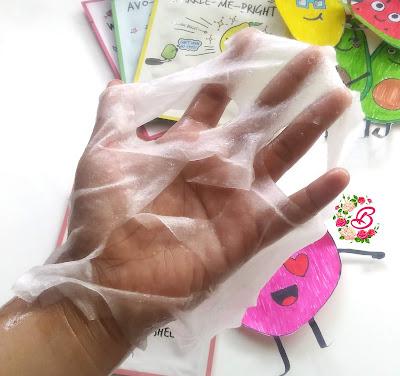 lembaran sheet mask