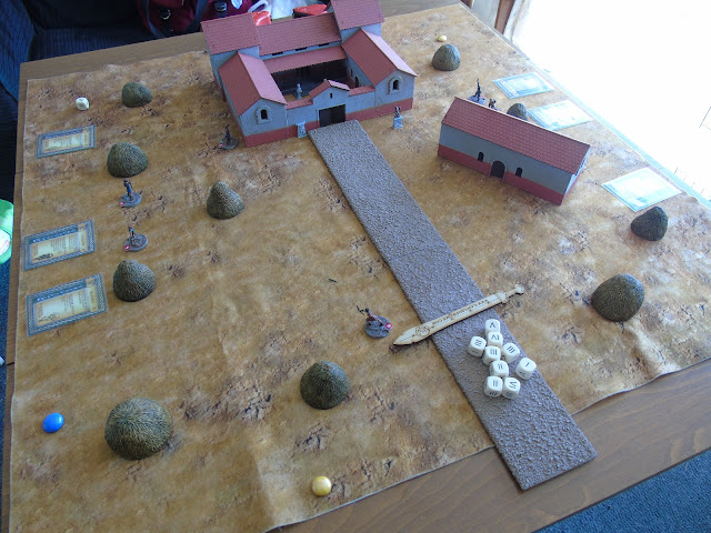Gangs of Rome scenery board building warbases villa