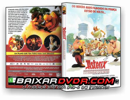 Astérix e o Domínio dos Deuses (2016) DVD-R Oficial