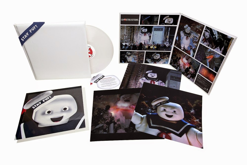 Stay Puft Edition Ghostbusters Super Deluxe Vinyl Single Record