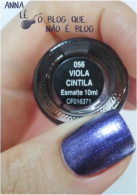 esmalte nailpolish viola cintila alfaparf