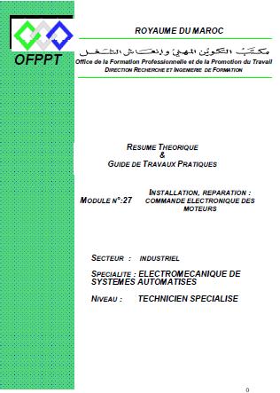 GRATUITEMENT AUTOMATISES-ESA DES SYSTEMES MODULES TÉLÉCHARGER ELECTROMECANIQUE