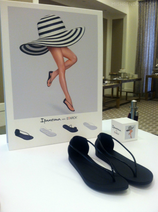 Ipanema with STARCK: Ipanema's shoe collaboration with world-renowned designer Philippe Starck