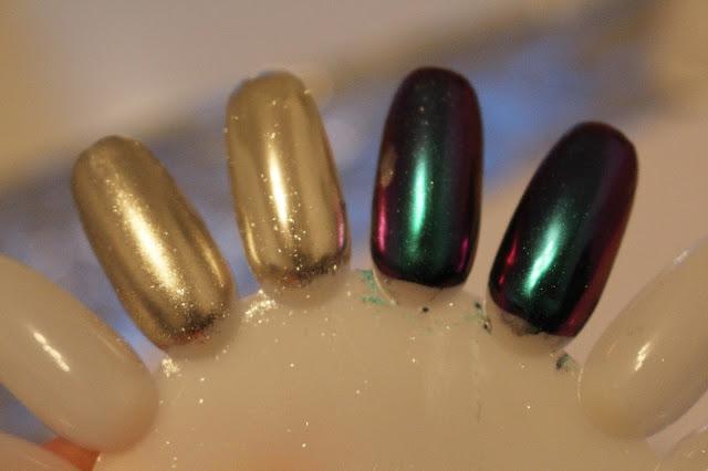 top niszczy efekt chrome jak uzyskać efekt metalowych paznokci efekt kameleon indigo semilac hybryda