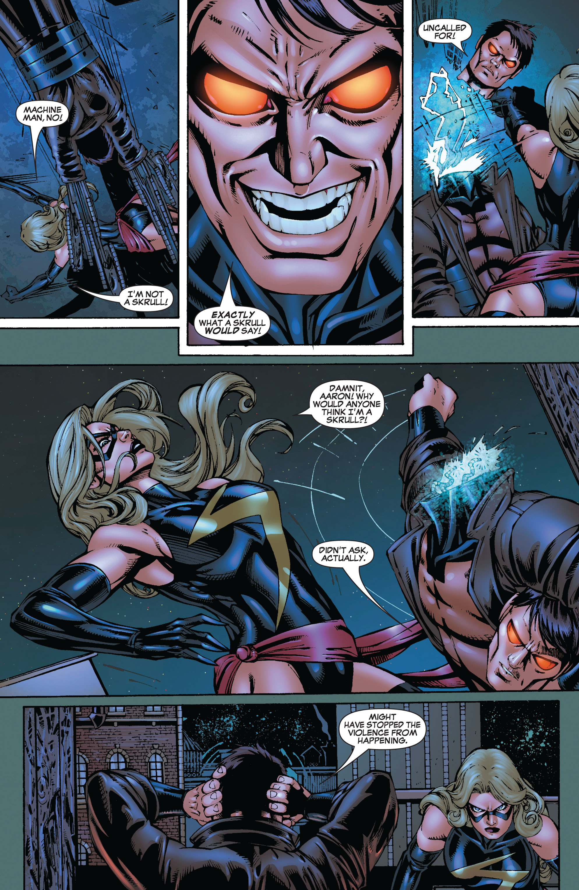 Read online Secret Invasion: The Infiltration comic -  Issue #9 - 10