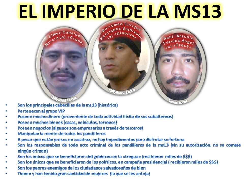 EL IMPERIO DEL MAL (MARA SALVATRUCHA a74f9382300