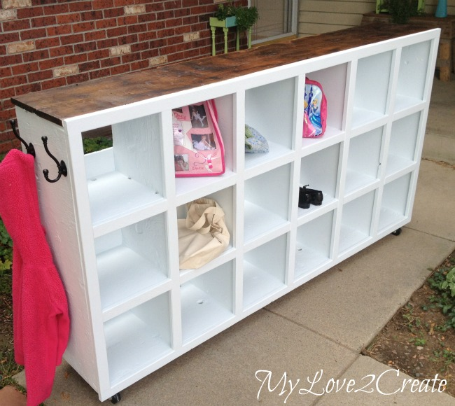 MyLove2Create, Cubby Shelf Revamp