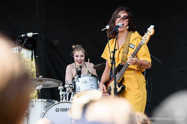 The Beaches at Field Trip 2016 at Fort York Garrison Common in Toronto June 4, 2016 Photos by John at One In Ten Words oneintenwords.com toronto indie alternative live music blog concert photography pictures