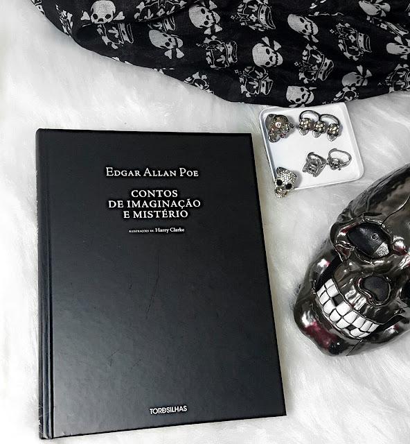 Capa do livro Contos de Imaginaçã e Mistério, de Edgar Allan Poe