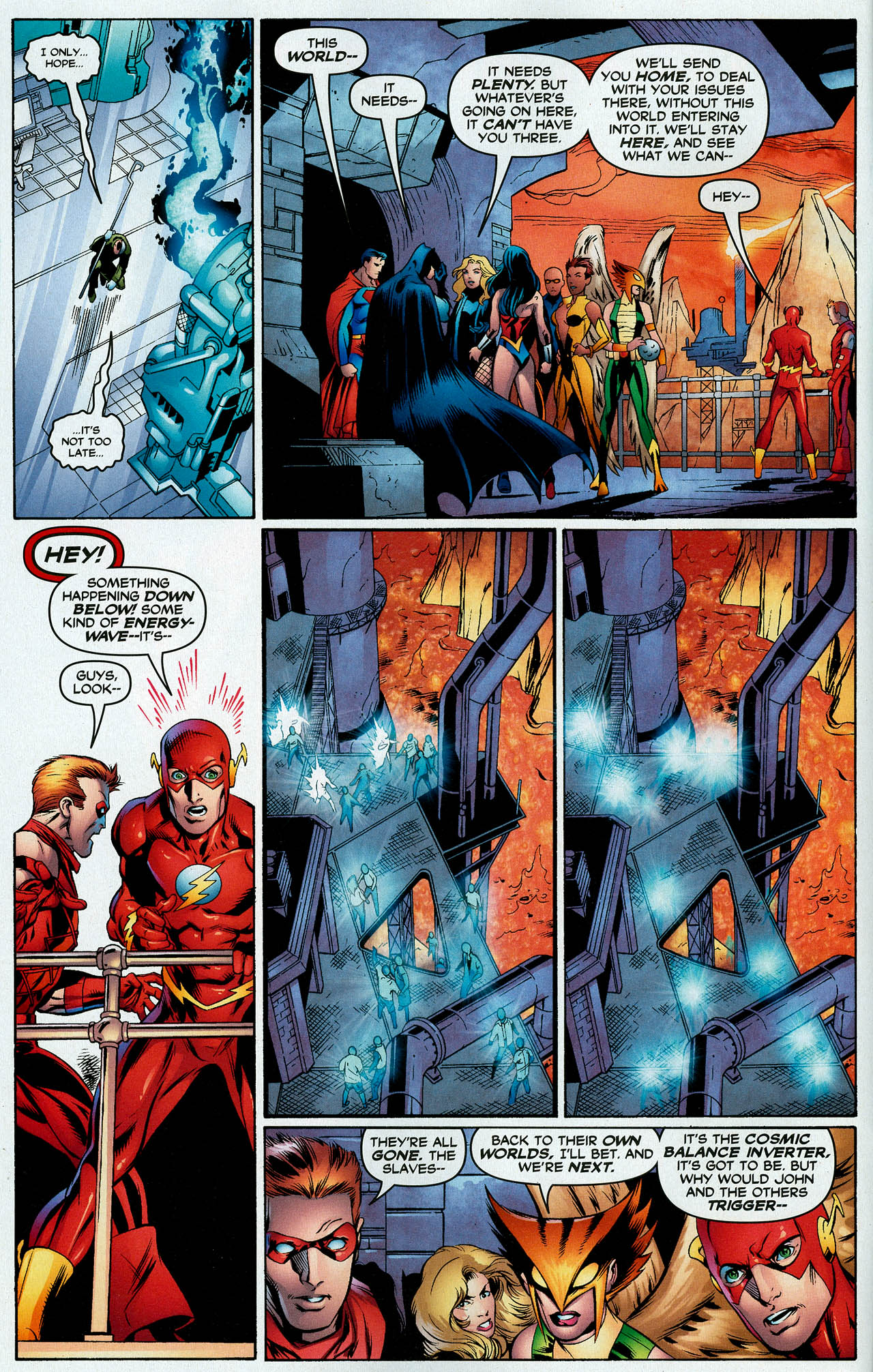 Read online Trinity (2008) comic -  Issue #14 - 13