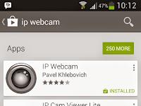 Tutorial Membuat CCTV Dengan Smartphone / Tablet Android