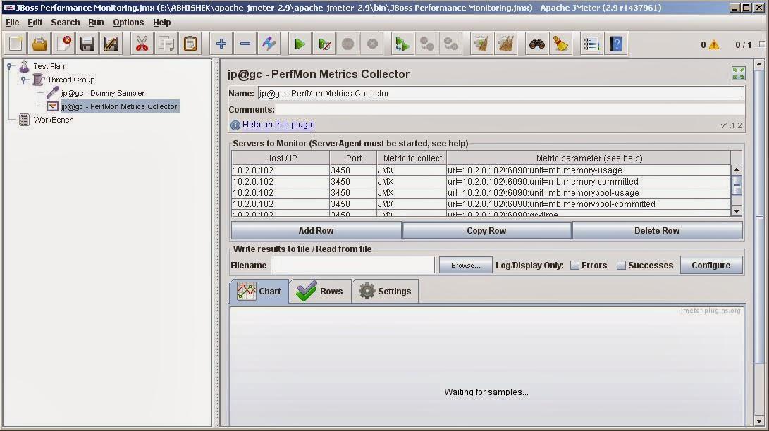 Remote JBoss performance monitoring using Jmeter | Knowledge