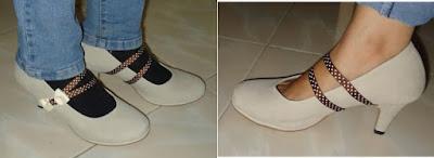 Permak Sepatumu Agar Lebih Menarik – dgn Aksesoris Pita